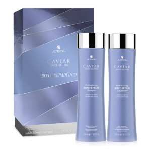 Alterna Haircare Caviar Restructing Bond Repair Duo Gift Set (Worth £69.00)