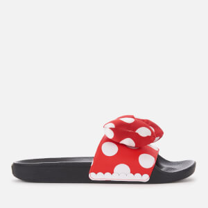 Vans Women's Disney Minnie's Bow Slide Sandals - True White