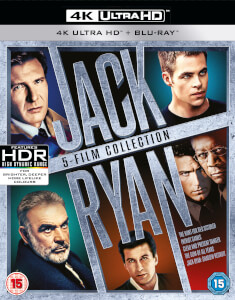 Jack Ryan Boxset (5 Films) - 4K Ultra HD