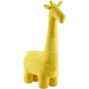 Premier Housewares Giraffe Animal Chair - Yellow