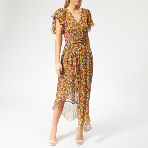Bec & Bridge Women's Stevie Wrap Dress - Floral Print Floral