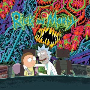 The Rick and Morty Soundtrack Vinyl (2 LP)