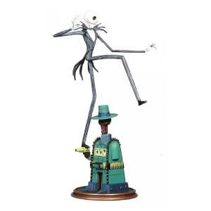 The Nightmare Before Christmas Gallery Oogie's Lair Jack Skellington PVC Statue - 23cm