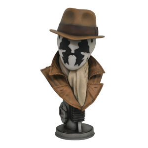 DC Comics Watchmen Legends in 3D Rorschach 1:2 Scale Bust - 25cm