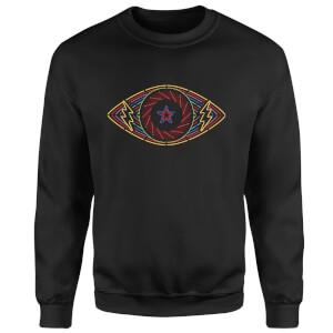 Celebrity Big Brother Eye Sweatshirt - Black
