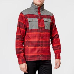 Columbia Men's Deschutes River Shirt Jacket - Rusty Large Plaid