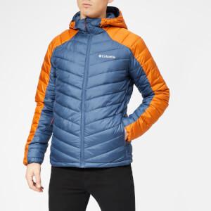 Columbia Men's Horizon Explorer Hooded Jacket - Dark Mountain/Bright Copper