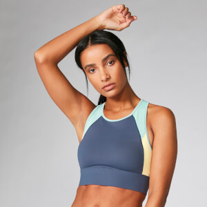Myprotein Power Deluxe Crop Top - Dark Indigo