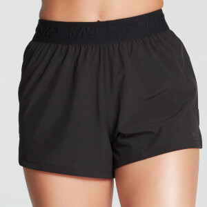 MP Women's Essentials Training Energy Shorts -shortsit - Musta
