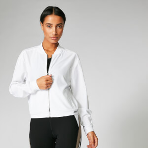 Myprotein Breathe Jacket - White