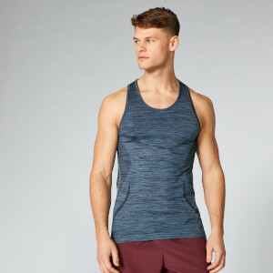 Sculpt Seamless Tank Top - Dark Indigo