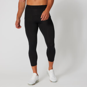 Base 3/4 Tights Leggings - Fekete
