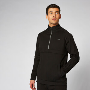 Myprotein City 1/2 Zip Pullover - Black