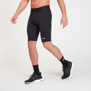 MP Men's Essentials Training Baselayer Shorts - Black
