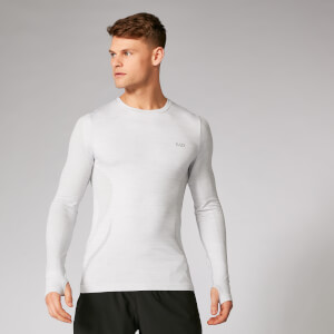 Sculpt Seamless Long Sleeve Shirt - Silber