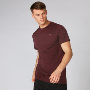 Lightweight Seamless T-Shirt - Oxblood Marl