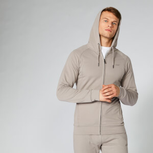 Form ZIp Up pulover s kapuco - Kremno bel