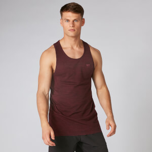 Lightweight Seamless Tank - Oxblood Marl