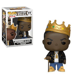 Pop! Rocks Notorious B.I.G with Crown Funko Pop! Figuur