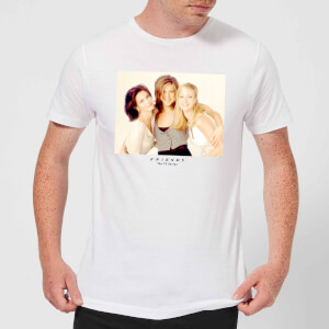 Friends Girls Men's T-Shirt - White