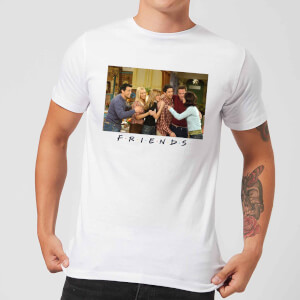 Friends Cast Shot Men's T-Shirt - White