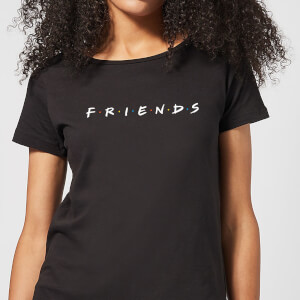 Friends Logo dames t-shirt - Zwart