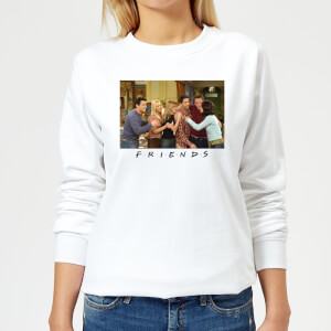 Friends Cast Shot Women's Sweatshirt - White