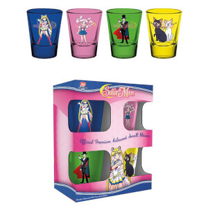 Sailor Moon Characters and Symbols Shot Glasses