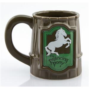 Lord of the Rings Prancing Pony Mug