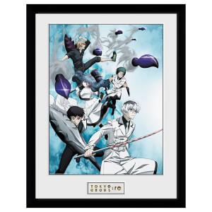 Tokyo Ghoul: RE Key Art Framed 16 x 12 Inches Print