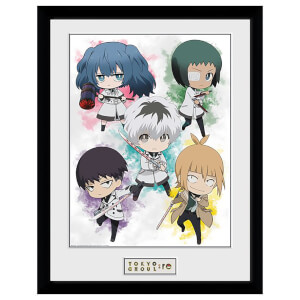 Tokyo Ghoul: RE Chibi Framed 16 x 12 Inches Print