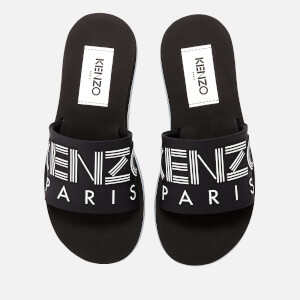 KENZO Women's Papaya Slide Sandals - Black