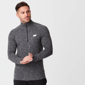 Men's Performance 1/4 Zip Top - Charcoal