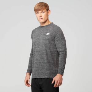 Performance Long Sleeve Top - Gråmelerad