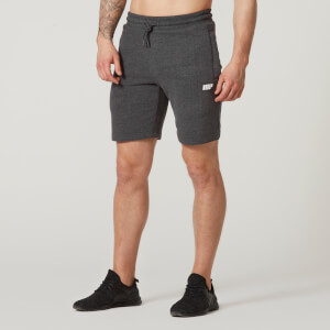 Myprotein Tru-Fit Zip Sweatshorts - Charcoal