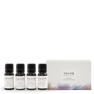 NEOM Essential Oil Blends 4 x 40ml (Worth £80.00)