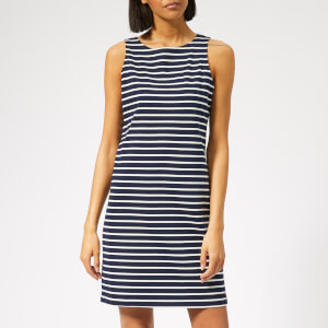 Joules Women's Riva Sleeveless Jersey Dress - Hope Stripe French Navy
