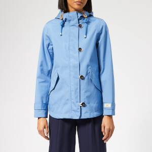 Joules Women's Coast Waterproof Jacket - Blue