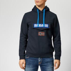 Napapijri Men's Burgee 2 Hoody - Blue Marine