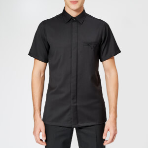 Matthew Miller Men's Cador Merino Wool Shirt - Black