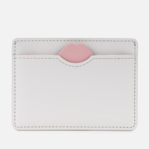 Lulu Guinness Women's Lip Cut Out Cate Cardholder - Oyster