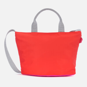 Lulu Guinness Women's Small Lip Base Lola Cross Body Bag - Red/Hot Pink