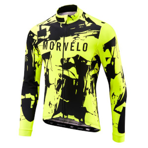 Morvelo Blaze Thermoactive Long Sleeve Jersey - Yellow/Black