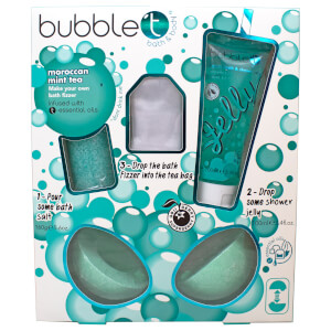 Bubble T Make Your Own Bath Bomb Moroccan Mint Tea (733g)