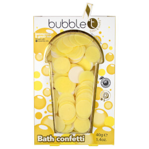 Bubble T Bath Confetti Lemongrass & Green Tea 40g