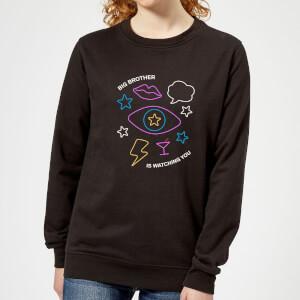 Celebrity Big Brother Big Brother Is Watching You Women's Sweatshirt - Black