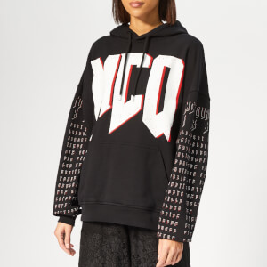 McQ Alexander McQueen Women's Superslouchy Hoody - Darkest Black