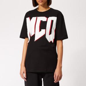7ba6850e190798 McQ Alexander McQueen Women's Boyfriend T-Shirt - Darkest Black