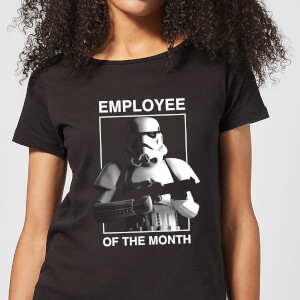 Star Wars Classic Employee Of The Month Damen T-Shirt - Schwarz