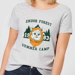 Star Wars Endor Camp Women's T-Shirt - Grey